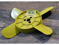 Lada 2101-2107 Coolant Fan 4 Blades Yellow
